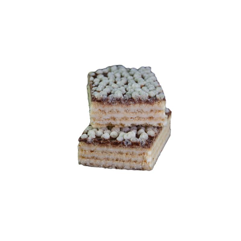 Citrinų skonio vaflinis baltyminis batonėlis be cukraus, Layenberger (40g) | ifood.lt