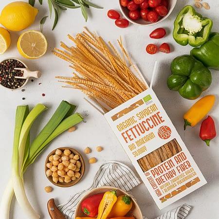 Ekologiški sojų pupelių makaronai Fettuccine, Diet Food (200g) | ifood.lt