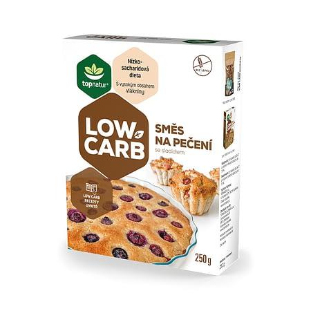 Low Carb pyrago, keksiukų, biskvito kepimo mišinys, be cukraus ir glitimo, Topnatur (250g) | ifood.lt