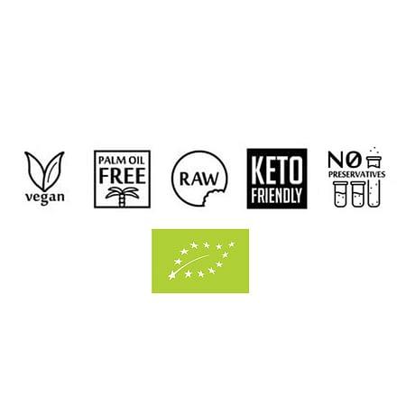 Ekologiška, veganiška, vegetariška, be palmių aliejaus, RAW, keto mitybai, be konservantų | ifood.lt