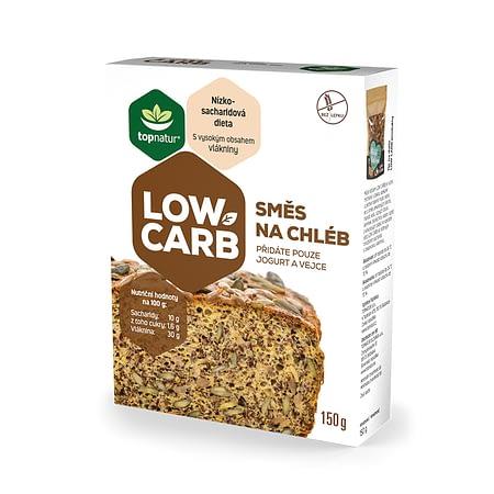 Šviesios Low Carb duonos kepimo mišinys, be glitimo, Topnatur (150g) | ifood.lt