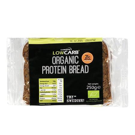 Ekologiška tamsi baltyminė duona, Low Carb (250g) | ifood.lt