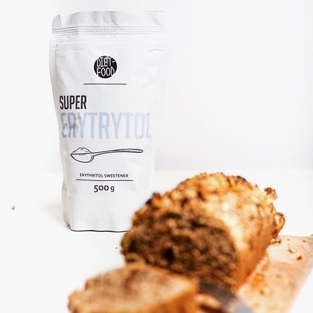 Natūralus cukraus pakaitalas eritritolis, Diet Food (500g) | ifood.lt