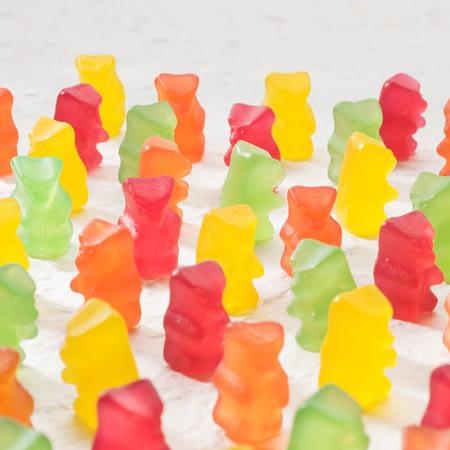 Vaisių skonio guminukai meškiukai, be cukraus ir glitimo, Sweet Switch (150g) | ifood.lt