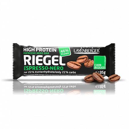 Kavos skonio baltyminis batonėlis be cukraus, Layenberger (35g) | ifood.lt
