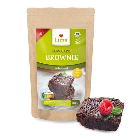 Low Carb šokoladinio pyrago kepimo mišinys, be glitimo, ekologiškas, Lizza (250g) | ifood.lt
