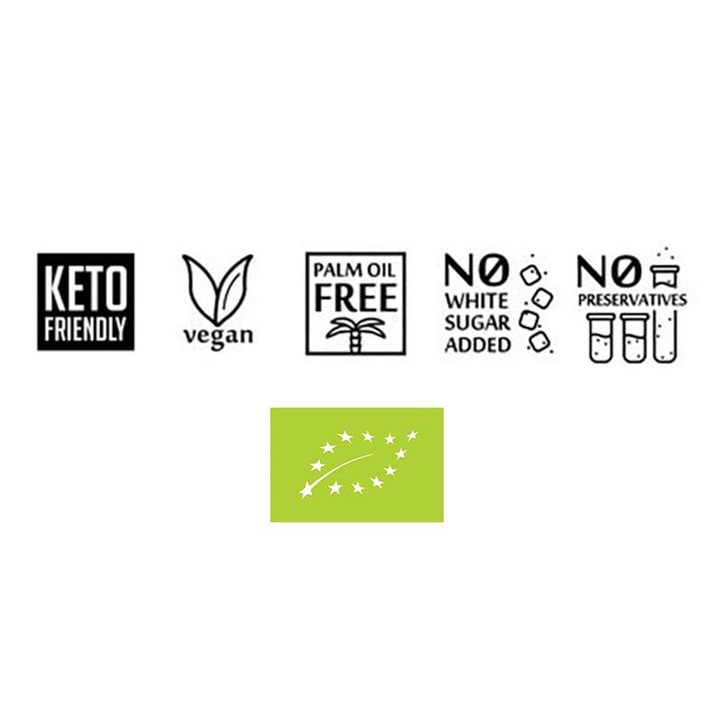 Ekologiška, keto mitybai, veganiška, vegetariška, be palmių aliejaus, be pridėtinio cukraus, be konservantų | ifood.lt