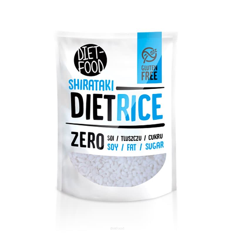 Japoniški ryžiai Shirataki, Diet Food (200g)   ifood.lt
