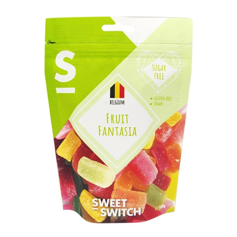 Vaisių skonio saldainiai želė, be cukraus ir glitimo, Sweet Switch (100g)   ifood.lt
