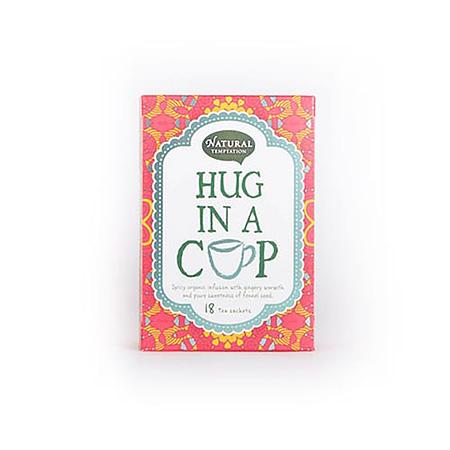 Žolelių arbata su imbieru ir pankolių sėklomis 'Hug in a cup', ekologiška, Natural Temptation (18 pak.) | ifood.lt