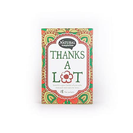 Žolelių arbata su ramunėlėmis ir žvaigždiniu anyžiumi 'Thanks a lot', ekologiška, Natural Temptation (18 pak.) | ifood.lt