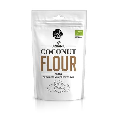 Ekologiški kokosų miltai, Diet Food (450g) | ifood.lt