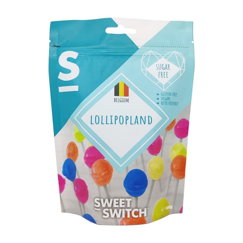 Vaisių skonio ledinukai ant pagaliuko, be cukraus ir glitimo, Sweet Switch (100g) | ifood.lt