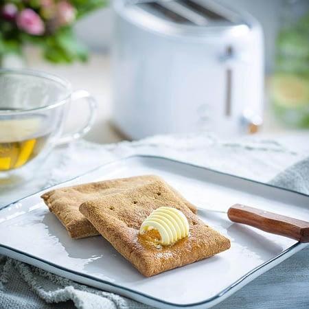 Ekologiška Keto Toast duonelė, be glitimo, Lizza (4vnt. x 55g) | ifood.lt