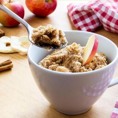 Low Carb pyragėlio su obuoliais ir cinamonu kepimo mišinys, be glitimo, ekologiškas, Lizza (55g) | ifood.lt