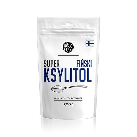 Natūralus cukraus pakaitalas ksilitolis, Diet Food (500g) | ifood.lt