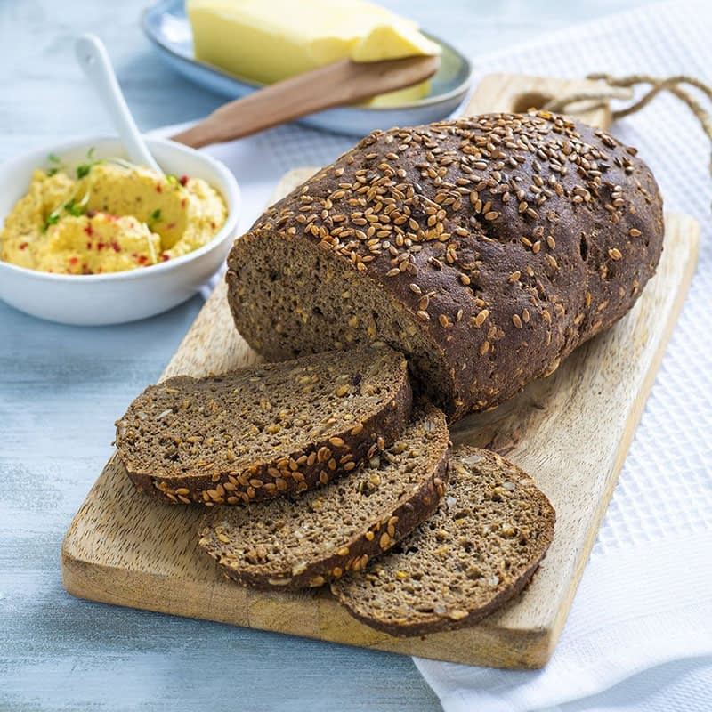 Ekologiška Low Carb duona, be glitimo, kepimo mišinys, Lizza (250g)   ifood.lt