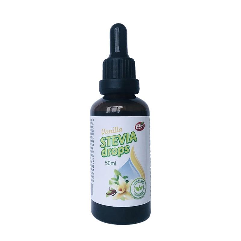 Vanilės skonio stevijos lašai, Korni (50ml) | ifood.lt