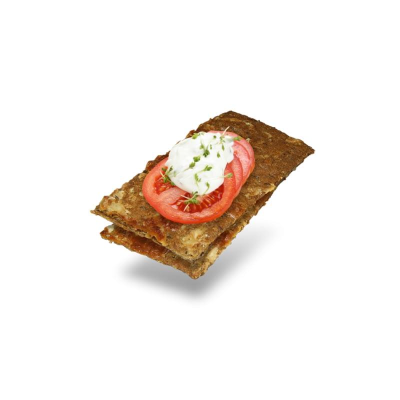 Traški duonelė su pomidorais ir mocarela, Layenberger (150g)   ifood.lt