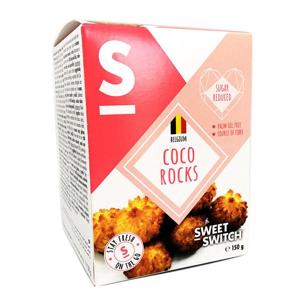 Kokosiniai sausainiai, be cukraus, Sweet Switch (150g) | ifood.lt