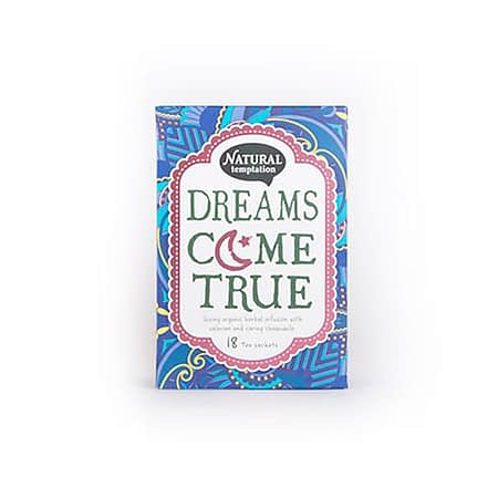Žolelių arbata su ramunėlėmis ir valerijonu 'Dreams come true', ekologiška, Natural Temptation (18 pak.) | ifood.lt